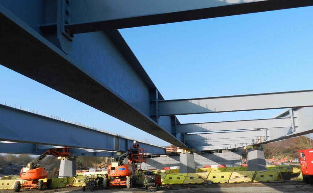 Poutres PRS pour le pont de Micheville