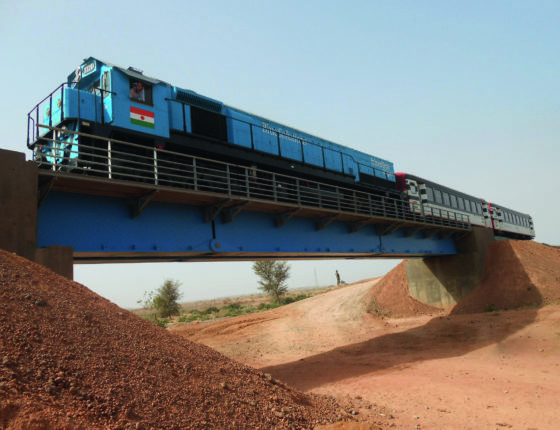 Unibridge Ouvrage ferroviaire au Niger